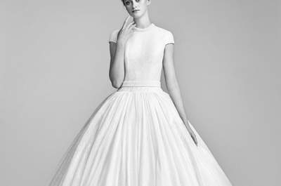 Suknie ślubne w stylu księżniczki: 60 pożądanych wzorów!