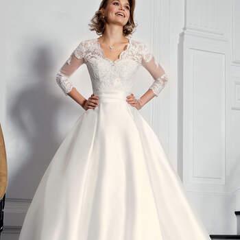 Photo : Robe de mariée Reenie Bella Créations 2020 - Les Mariées de Talia