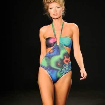 Un maillot de bain coloré et ultra chic. Collection La Perla 2012, Languid Night