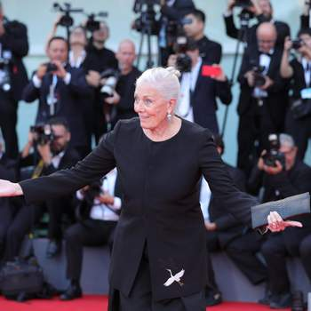 VENICE, Aug. 29, 2018  British actress Vanessa Redgrave, who will be awarded the Golden Lion for Lifetime Achievement at the 75th Venice International Film Festival, poses on the red carpet in Venice, Italy, Aug. 29, 2018. The 75th Venice International Film Festival kicked off here on Wednesday. (Credit Image: © Cheng Tingting/Xinhua via ZUMA Wire)