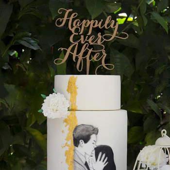Inspiração para bolos de casamento diferentes e originais | Créditos: Pitada d'Amor
