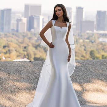 Créditos: Pronovias Cruise 2021 | Modelo do vestido: Hutton