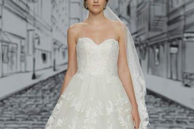 Vestidos de novia corte princesa 2017: Los 85 diseños más hermosos para tu boda