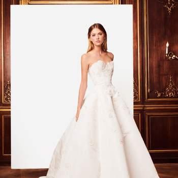 e993c157e Vestidos de novia Oscar de la Renta 2019  explosión de elegancia y ...