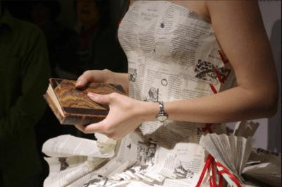 Robes de mariée en papier : originalité garantie !