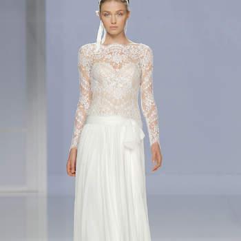 Свадебные платья с бантом: стильно и женственно