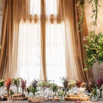 Sí a las flores silvestres para tu boda. Credits: Elena Suárez and Co