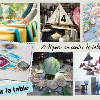 Centres de table - Crédit photo: Décorations de Mariage