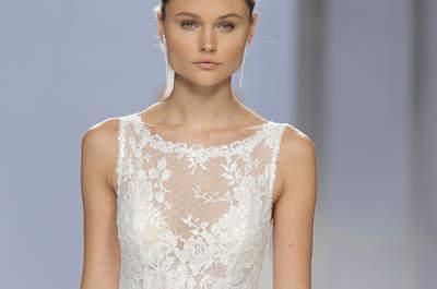 Vestidos de novia escote ilusión. ¡Encuentra tu diseño favorito!