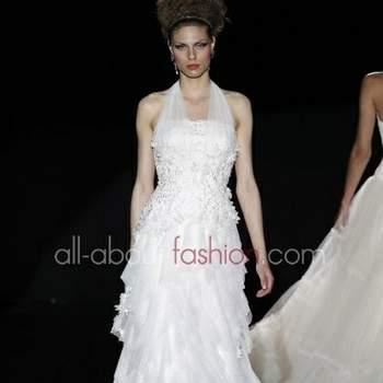 Trionfa il barocco per questa collezione che ha letteralmente stregato la Madrid Bridal Week