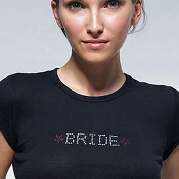 Pegatina para camiseta de novia- Compra en The Wedding Shop