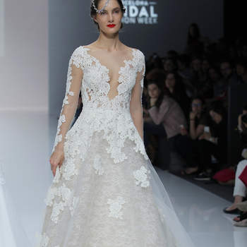 Cymbeline. Créditos: Barcelona Bridal Fashion Week
