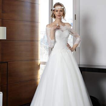 Photo : Robe de mariée Roxanne Bella Créations 2020 - Les Mariées de Talia