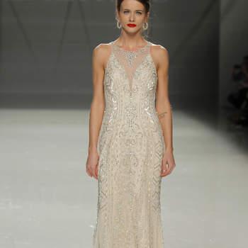 Demetrios. Credits: Barcelona Bridal Fashion Week
