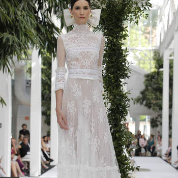 María Barragán: Credits: Barcelona Bridal Fashion Week