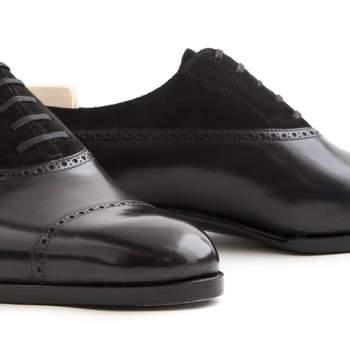 Saint Crispin's 535 Oxford black. Cortesía Leffot