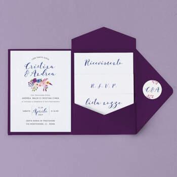 Invitaciones April Color Vino- Compra en The Wedding Shop