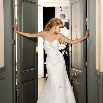 Robe de mariée Max Chaoul 2012, collection I Love You. Modèle Rosans. Source : Max Chaoul