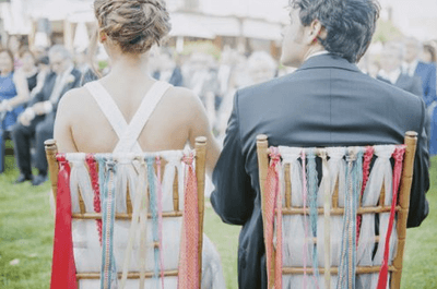 Wedding chair decorations: The most stylish ideas to brighten up your wedding day!