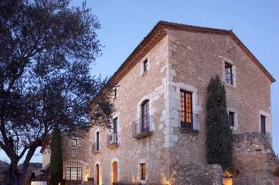 Las 11 mejores masías de Girona donde celebrar una boda