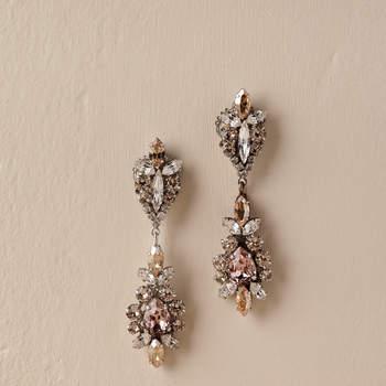 La Rosa Earrings. Credits: Bhldn