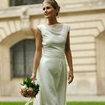 Robe de mariée Diane, vue de face - Crédit photo: Catherine Varnier