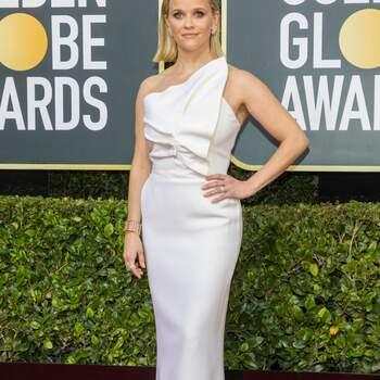 Reese Witherspoon veste Roland Mouret. Crédits: Cordon Press