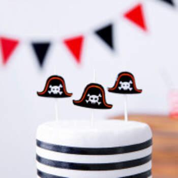 Bougies Pirates 5 Pièces - The Wedding Shop !
