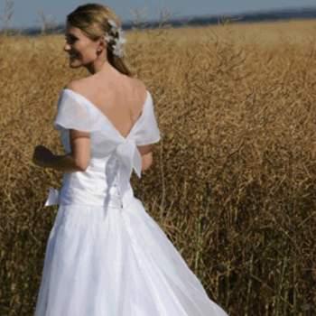 Robe de mariée Charley, vue de dos - Crédit photo: Catherine Varnier
