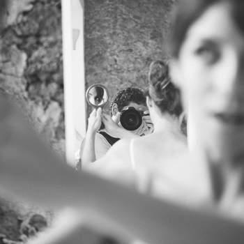 Préparatifs de la mariée le Jour J - Photo : Felipe Luz