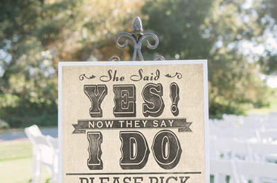 Décoration de mariage 2015 : pour un
