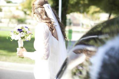 Peinado de novia. Foto:Jaime Blázquez