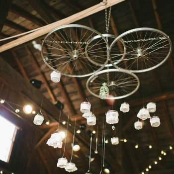 Photo: DIY wedding Michelle Gardella