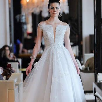 Créditos: Ines di Santo, Bridal Spring 2020, New York, April 2019