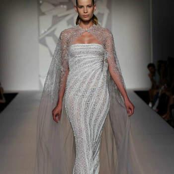 O estilista libanês Abed Mahfouz apresentou a sua colecção Couture Out./Inv. 2012-13 na Alta Roma Fashion Week, com alguns vestidos de noiva - e outros que bem poderiam ser de noiva - verdadeiramente belos.