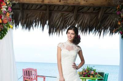 Modern and romantic dresses from the Justin Alexander 2014 Sincerity Collection