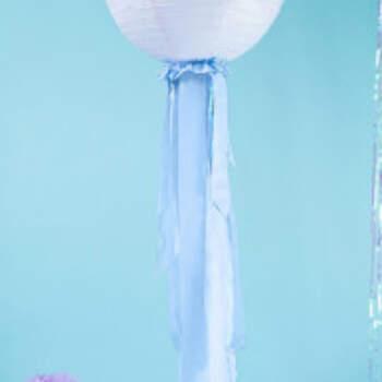 Décoration Bande Bleu Clair 4 Pièces - The Wedding Shop !