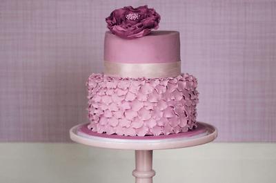 4 divertidas ideas para hornear un pastel fondant en tu despedida de soltera