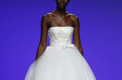 Suknie ślubne bez ramiączek 2016: chwilowa moda, która pozostała!