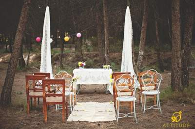 Heiraten im Herbst - Eine herbstliche Hochzeit auf dem Land