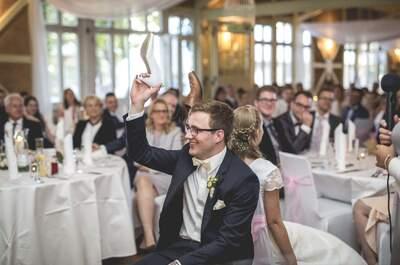 6 tolle Hochzeitsspiele, die wirklich alle begeistern werden - So wird die Hochzeit zum vollen Erfolg!