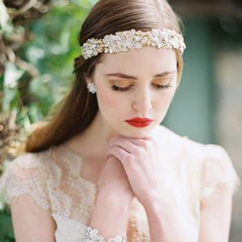 Para quem busca uma tiara mais delicada esta opção é genial. Foto: Laura Gordon