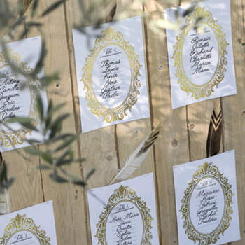 Tarjetas seating plan 10 unidades- Compra en The Wedding Shop
