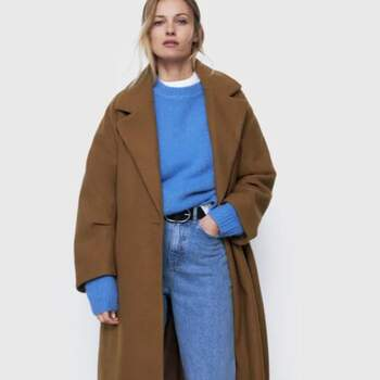 Zara Abrigo Oversized $1,500