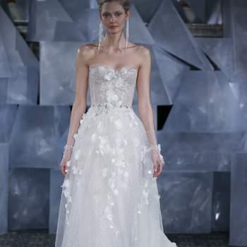 Mira Zwillinger. Credits: New York Bridal Fashion Week