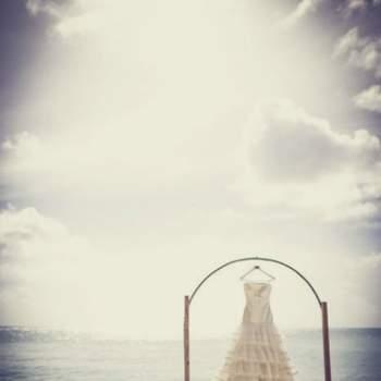 Robe pour un mariage à la plage. Crédit: Fran Russo