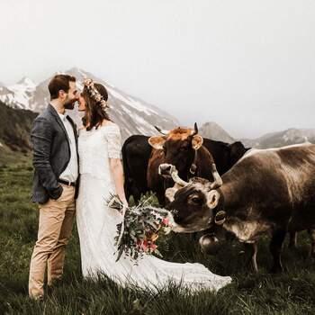 Afterwedding Shooting auf dem Niederbauen. Foto: Schweiz Tourismus Rent a Hotel