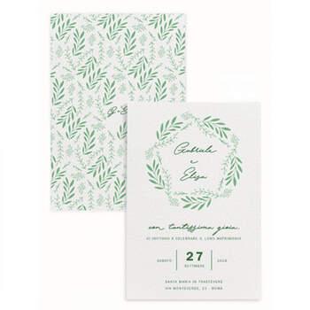 Invitaciones Ramitas- Compra en The Wedding Shop