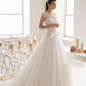40 abiti da sposa con fiocco: romanticismo estremo!
