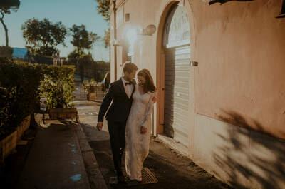 Sesja ślubna, gdzie odkryjemy miłosną historię pisaną polskim piórem we włoskich uliczkach.
